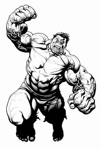 Hulk Cho Smash Drawing Frank Marvel Comics