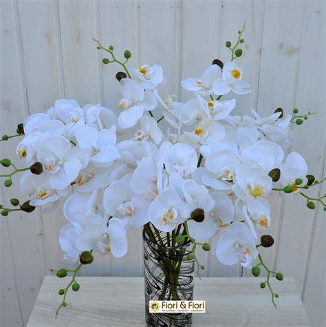 fiori artificiali real touch fiore artificiale orchidea phalaenopsis real touch bianco