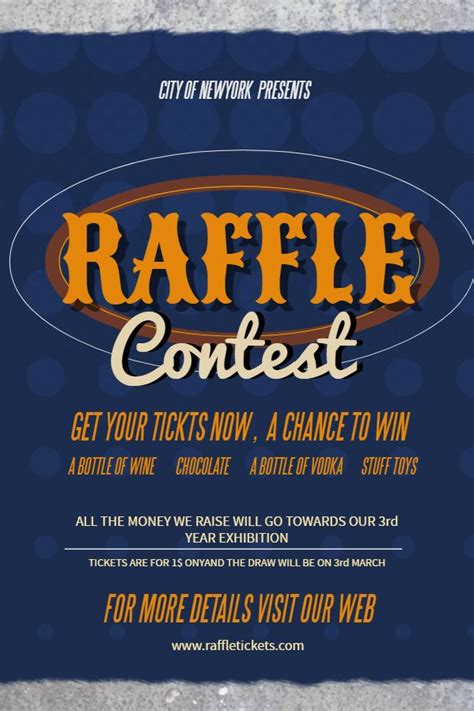 raffle flyer social media post template contest posters