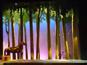 tree forest set design performing arts the red list