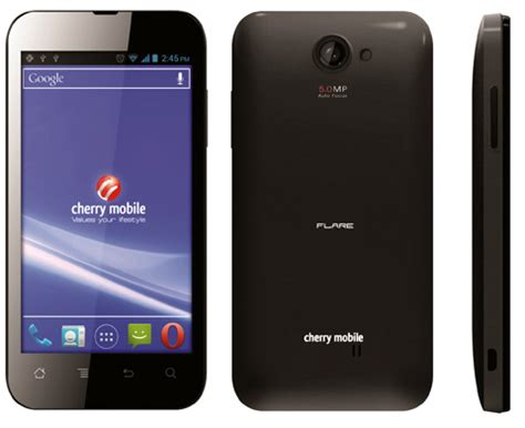 cherry mobile phones cherry mobile flare cheapest quality android phone in ph