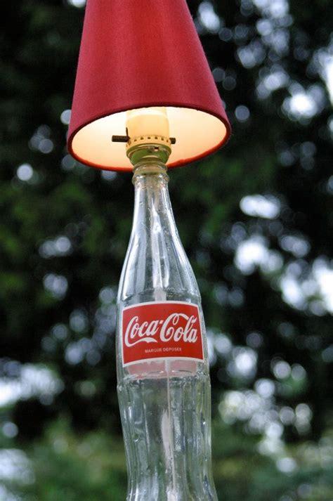 coke bottle lamp  tips  making lighting