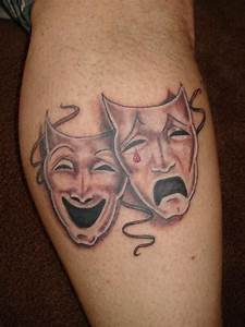 theater mask tattoo | Tattoos and Piercings | Pinterest ...