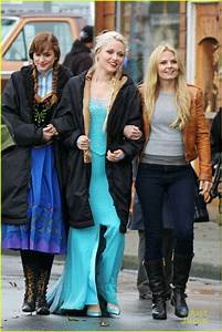 Georgina Haig Hangs With Elizabeth Lail & Jennifer ...