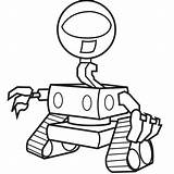 Robot Coloring Robots Alien Outline Simple Clipart Drawing Sheets Pj Cliparts Mask Giant Sketch Future Clip Library Craft Template Rangers sketch template