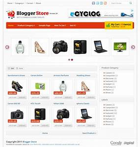 blogger store v2 best online store blogger templates With shopping cart template for blogger