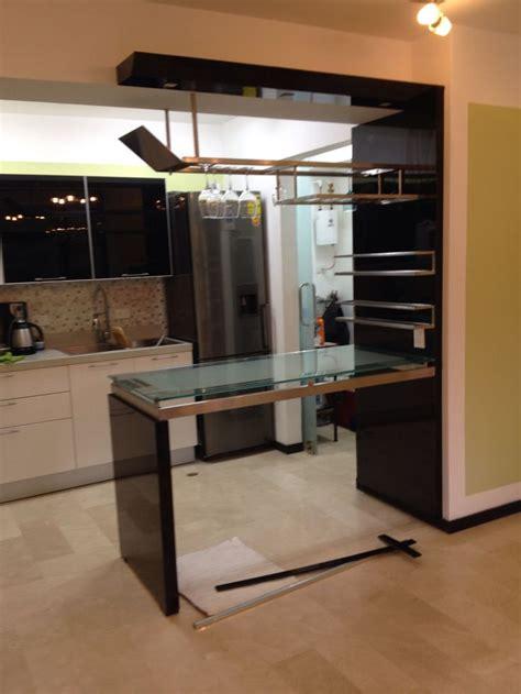 ideas decoracion barra de cocina  cantina remodelacion