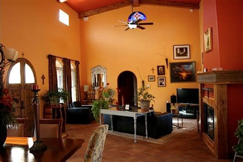 Southwest Living Room : Southwest Style Home On Acreage In Alto Area