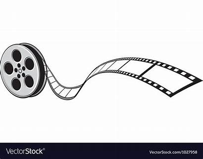 Film Strip Vector Projector Cinema Reel Clip