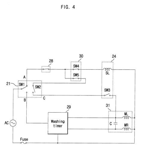 lg semi automatic washing machine wiring diagram 48