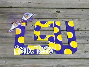louisiana state university lsu geaux tigers wooden With lsu wooden letters