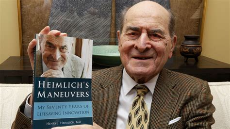 Henry Heimlich, doctor who invented lifesaving anti ...