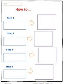 How to Writing Graphic Organizer