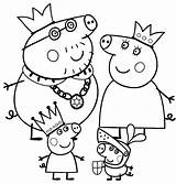Peppa Pig Coloring Pages Sun sketch template