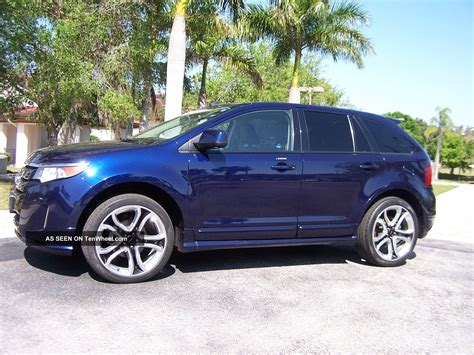 2018 Ford Edge Sport All Wheel Drive Awd Pano Roof Remote