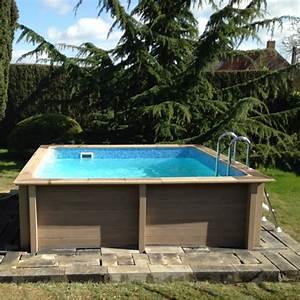 Beton Ciré Piscine : piscine b ton carr e naturalis 3 24x3 24x1 28m ~ Melissatoandfro.com Idées de Décoration