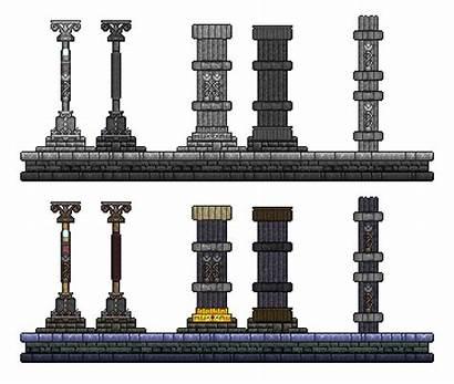 Terraria Building Pillars Minecraft Column Pillar Build