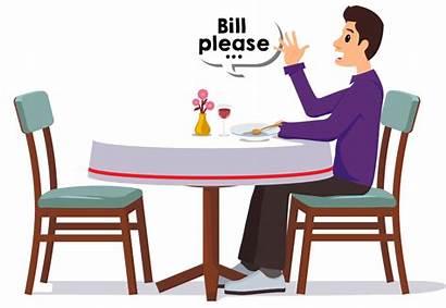 Restaurant Clipart Bill Transparent Ireap Pos Call