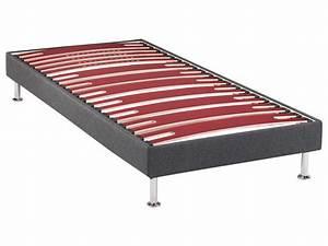 Sommier À Lattes Conforama : sommier tapissier 80x190 cm bultex morpho vente de ~ Dode.kayakingforconservation.com Idées de Décoration