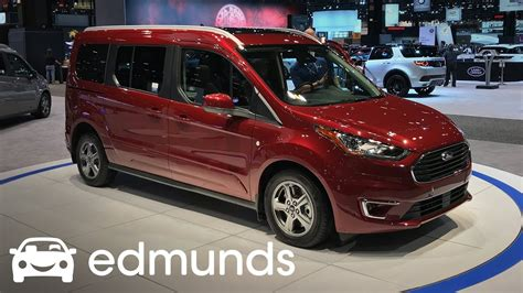2019 Ford Transit Connect Unveil | Edmunds - YouTube