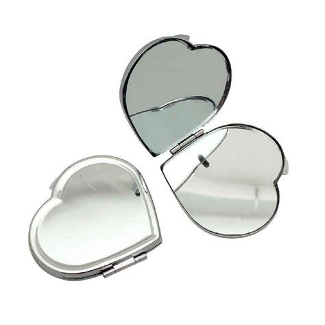 miroirs de poche forme cœur en m 233 tal lot de 5 n c vente d objet divers 224 d 233 corer la