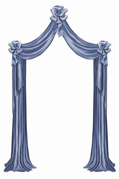 Curtain Clipart Transparent Curtains Left Decorative Yopriceville