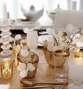 Weihnachtsdekoration Selber Basteln : weihnachtsdeko selber basteln tischdeko goldene ~ Articles-book.com Haus und Dekorationen