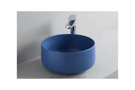 vasque en bleue vasque cognac 35cm 224 poser ronde en c 233 ramique blanche ou couleur