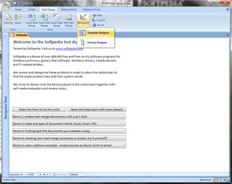 Microsoft Access 2003 Templates by Mail Merge For Microsoft Access