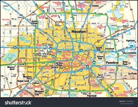 houston texas city maps  travel information