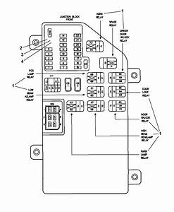 A6264 2001 Chrysler Concorde Wiring Diagram