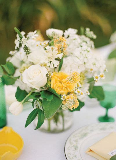 sweet corn sweethearts yellow wedding details