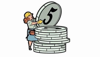 Money Jar Clipart Cents Save Tricks Penny
