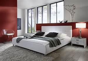 Bett 200x220 Weiß : sam polsterbett doppelbett bett 140 cm x 200 cm wei zarah ~ Indierocktalk.com Haus und Dekorationen