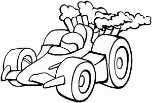 simple car picture Colouring Pages