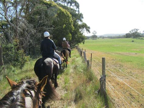 horse riding outdoor activities victoria australia