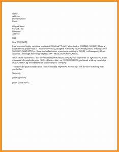 general cover letters for employment bio letter format With example of covering letter for employment