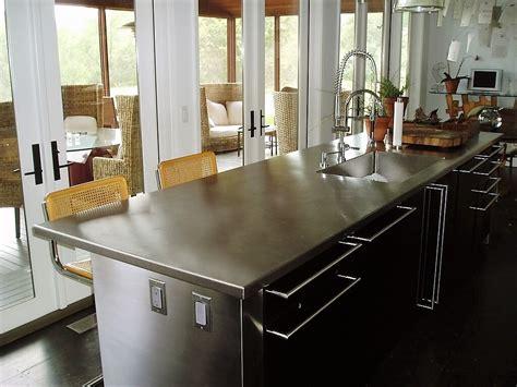 kitchen island tops stainless steel countertop custom