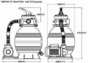 Sandman Economy Above Ground Pool Sand Filter System