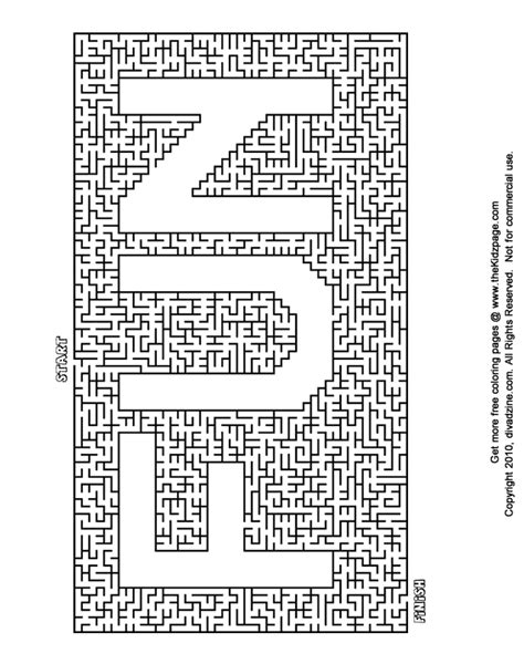fun maze free printable learning activities for kids printable colouring sheets a personal