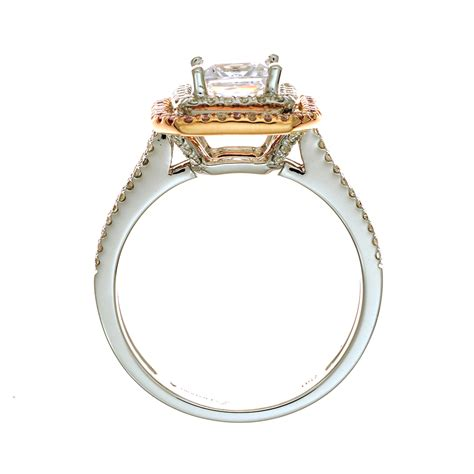 Diadori Halo Doubled In This Diamond Engagement Ring Setting