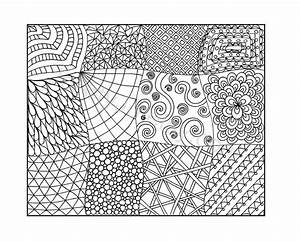 8 Best Images of Printable Zentangle Coloring Pages PDF ...