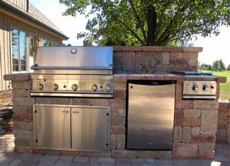 unilock outdoor kitchens shape and form themes for impressive outdoor kitchens in