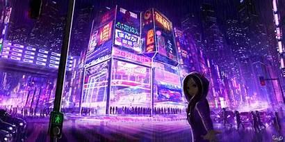 Cyberpunk 4k Wallpapers Cityscape Digital Desktop Anime