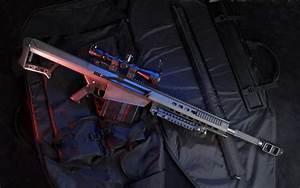 Barrett .50 Cal Barrett M82 A1 Sniper Rifles Guns Wea