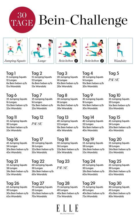 30 tage challenge f 252 r schlanke oberschenkel fitness sports fitness und