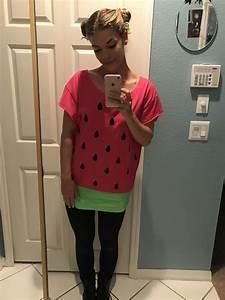 Kostüm Baby Selber Machen : wassermelone kost m selber machen kost m idee zu karneval halloween fasching nina ~ Frokenaadalensverden.com Haus und Dekorationen