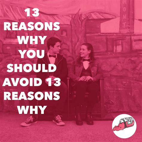 13 Reasons Why You Should Avoid 13 Reasons Why  Tv & Jelly