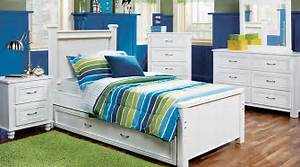Cottage Colors White 5 Pc Full Panel Bedroom - Teen