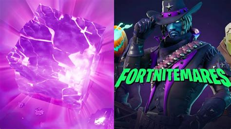 fortnitemares  time  cube event